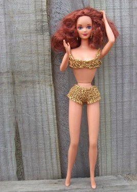 Gold bikini by me.