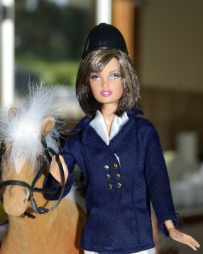 Sarah - Denim Basics Barbie -02 in generic riding outfit