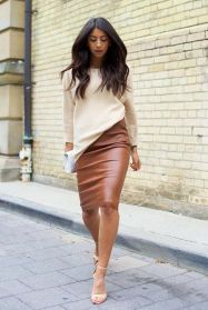 leather-skirt-in-brown