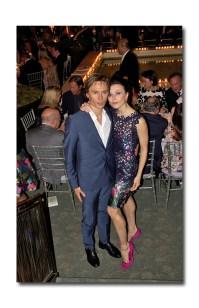 former principal dancers with ABT Max Beloserkovsky and actress and dancer Irina Dvorovenko in B Michael