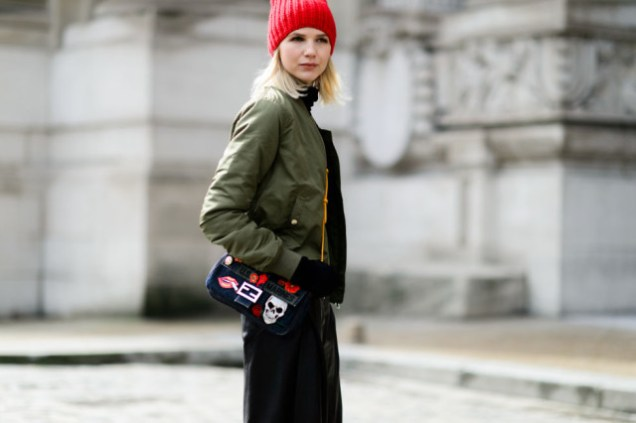 baseball-jacket-army-green-bomber-jacket-red-benie-turtleneck-fendi-bag-pfw-street-style-elle-640x426