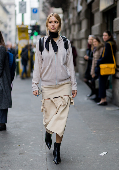 Street Style: February 26 - Milan Fashion Week Fall/Winter 2016/17