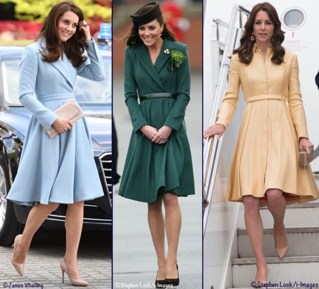 Kate-Three-3-Emilia-Wickstead-Coat-Dresses-Coatdress-Blue-Luxembourg-Green-Irish-Guards-Yellow-Thistle-Order-Montage-Made-May-11-2017-1