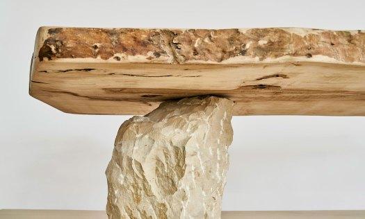 rustic ash table