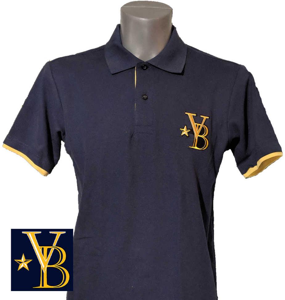 fcd99d70 classic polo shirt, blue polo, vanderbilt bijl polo