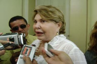 Depois das nomeações ilegais, Chica Motta agora é questionada sobre diárias (Foto da Internet)
