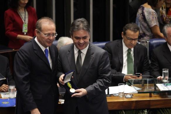 C�ssio foi um dos homenageados no Congresso Nacional
