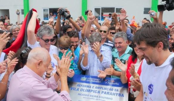 Rc inaugura vila olimpica