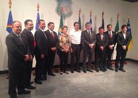 Dilma e os governadores