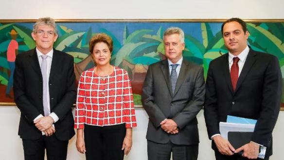 Dilma e governadores do PSB