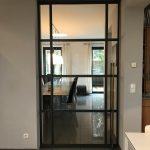 Stahl-Loft-Tür (Schiebetür)