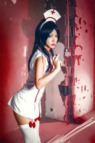 akali cosplay Photography: Lion Makeup: glass Koshino