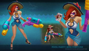 Pool party Midd Fortune by MissMaddyTaylor