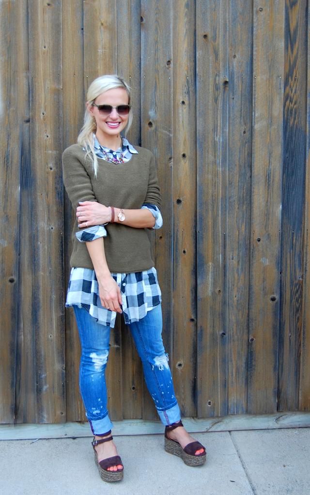 necklace-giveaway-light-layers-fall-fashion-plaid-gingham-blog-blogger-vandi-fair-lauren-vandiver
