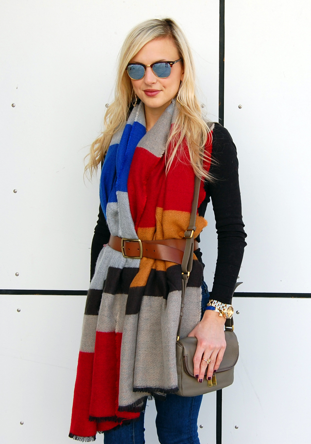 belted-colorful-stripe-scarf