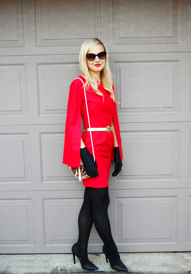 red-cape-holiday-dress
