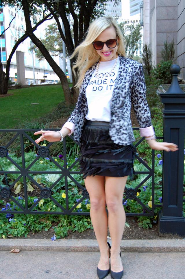 fringe-leather-skirt