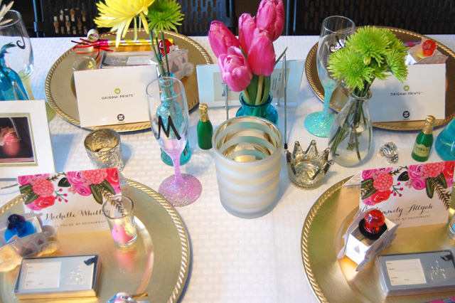 princess-bridesmaids-party-table