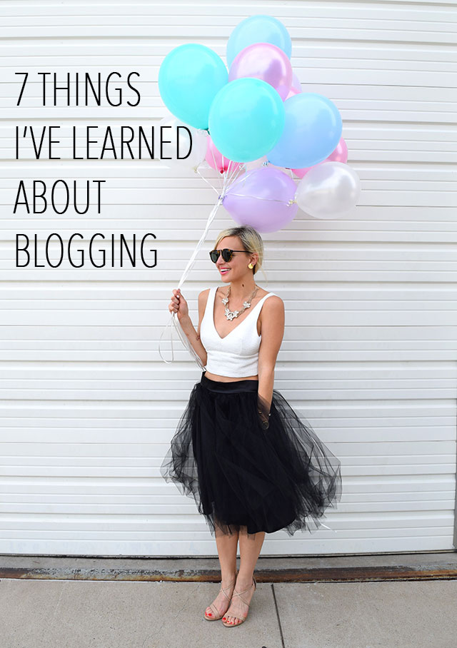 7 things ive learned about blogging