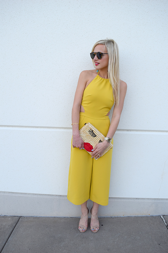 cutout-yellow-jumpsuit