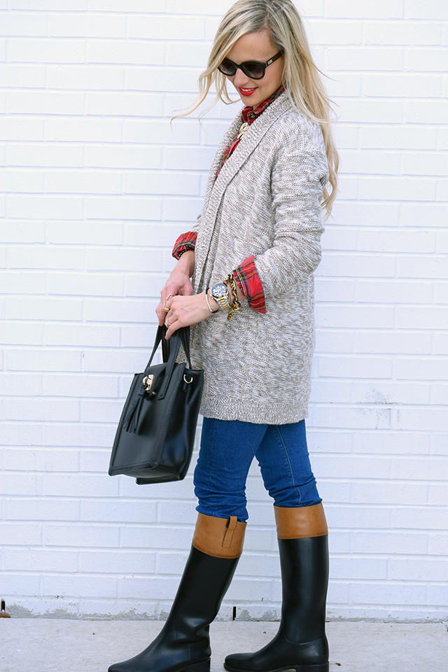 fall layers outfit