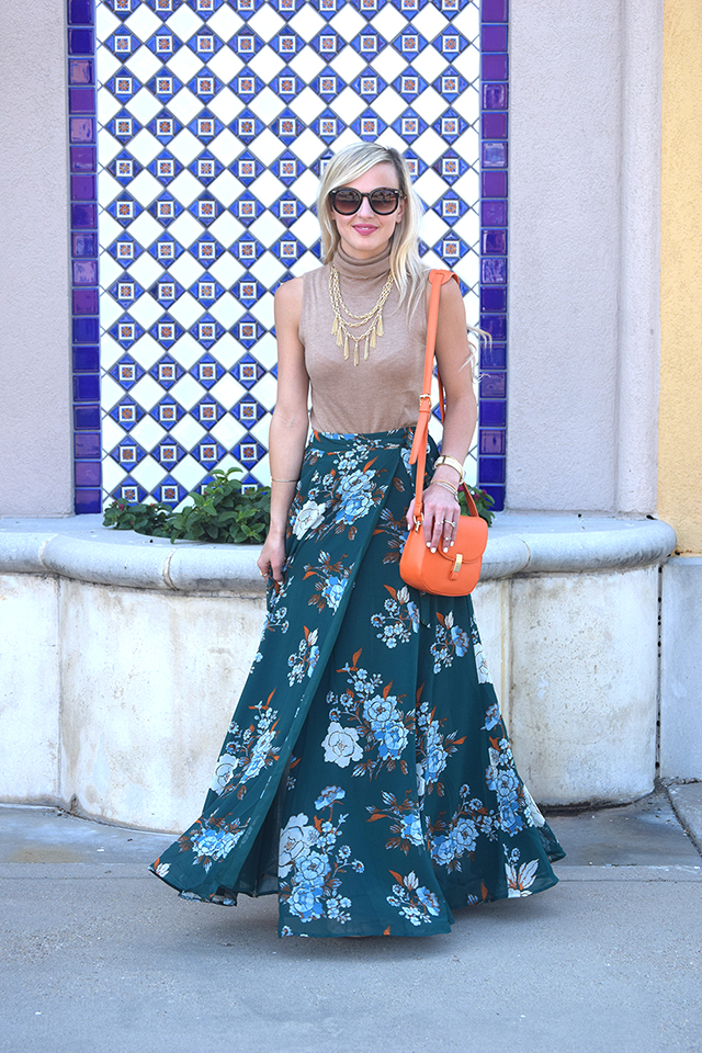 Emerald Maxi Skirt Vandi Fair