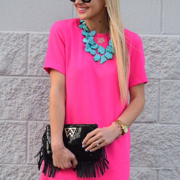colorful fashion outfit