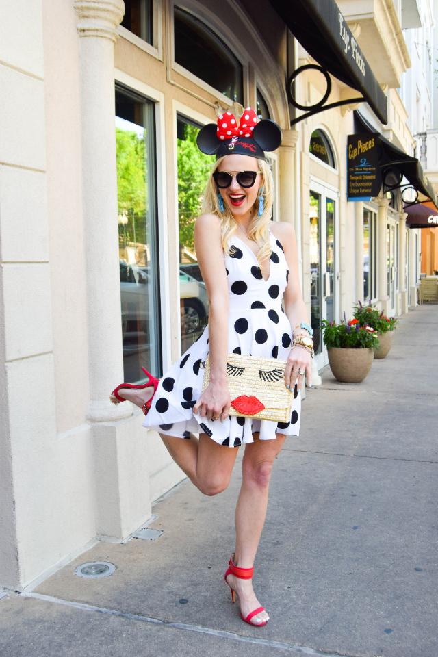 Black And White Polka Dot Dress Vandi Fair