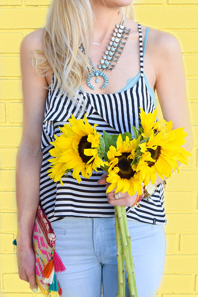 vandi-fair-blog-lauren-vandiver-dallas-texas-southern-fashion-blogger-blank-nyc-frayed-belle-yeah-belle-bottom-jeans-striped-ruffled-tank-top-baublebar-capri-amulet-necklace-5