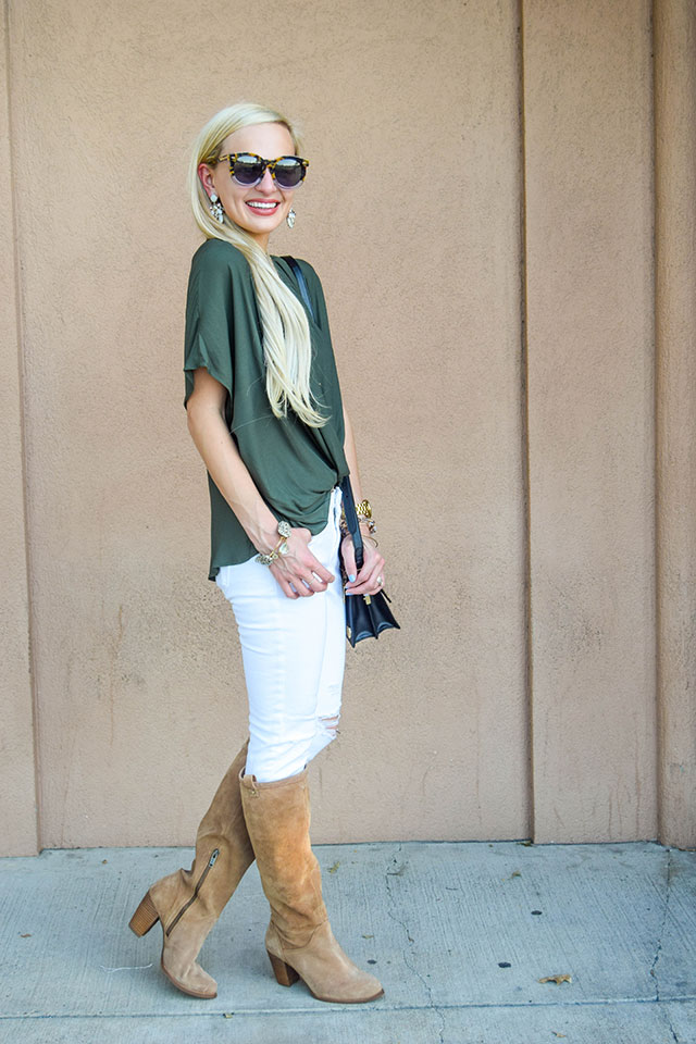 vandi-fair-blog-lauren-vandiver-dallas-texas-southern-fashion-blogger-nordstrom-anniversary-sale-fall-outfits-lush-twist-front-woven-top-ugg-ava-tall-suede-boot-1