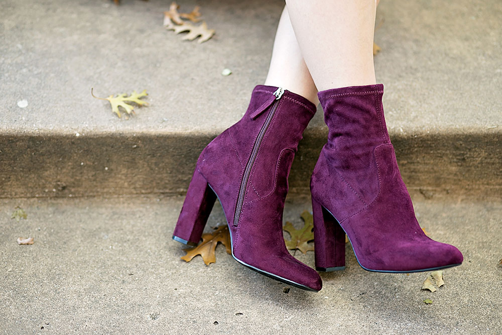 burgundy-ankle-booties