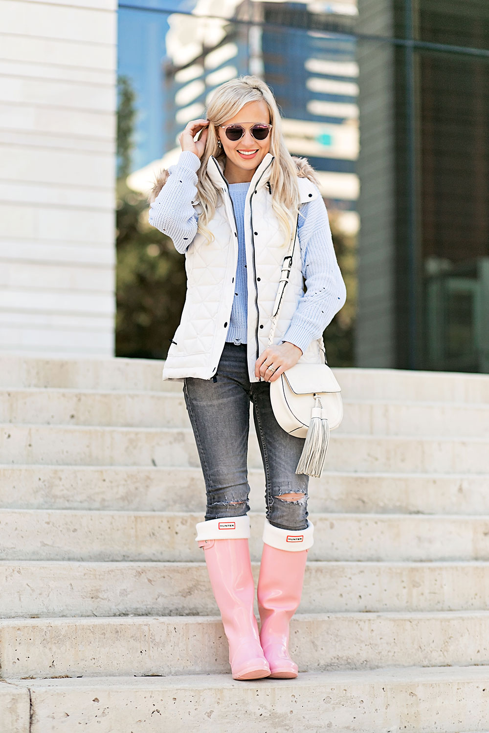 pink-hunter-rain-boots-outfit
