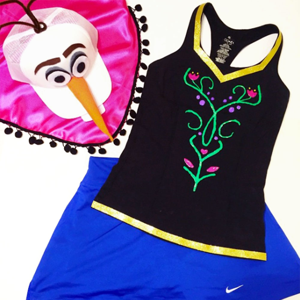 anna-dress-olaf-hat-diy-running-costume