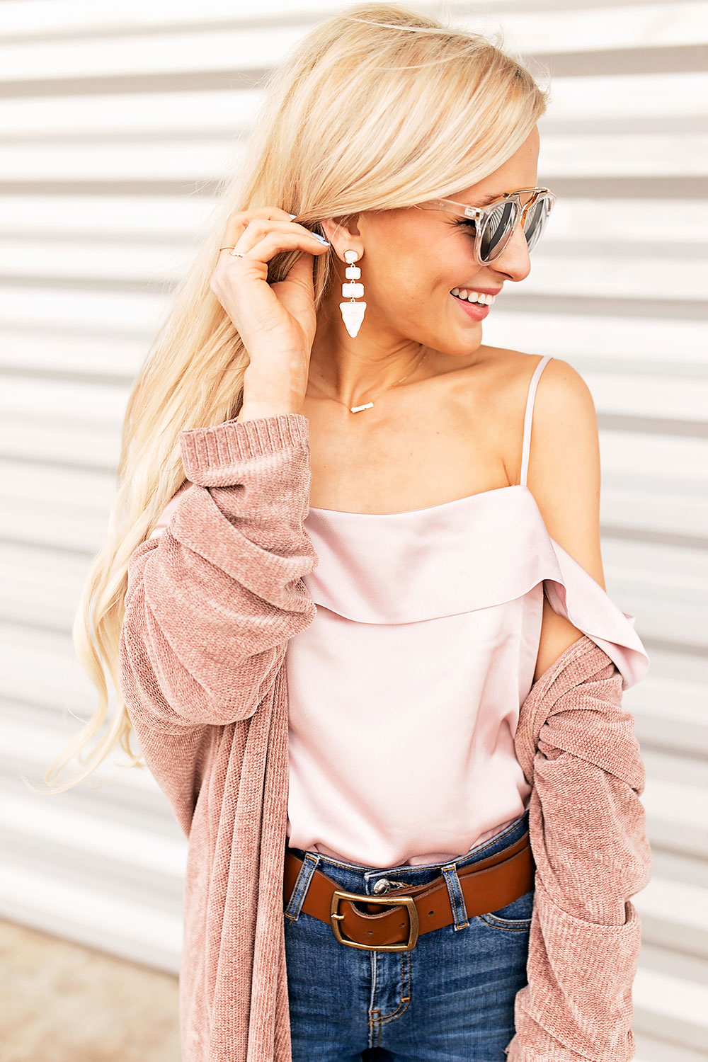 blush-cardigan-silk-top-outfit
