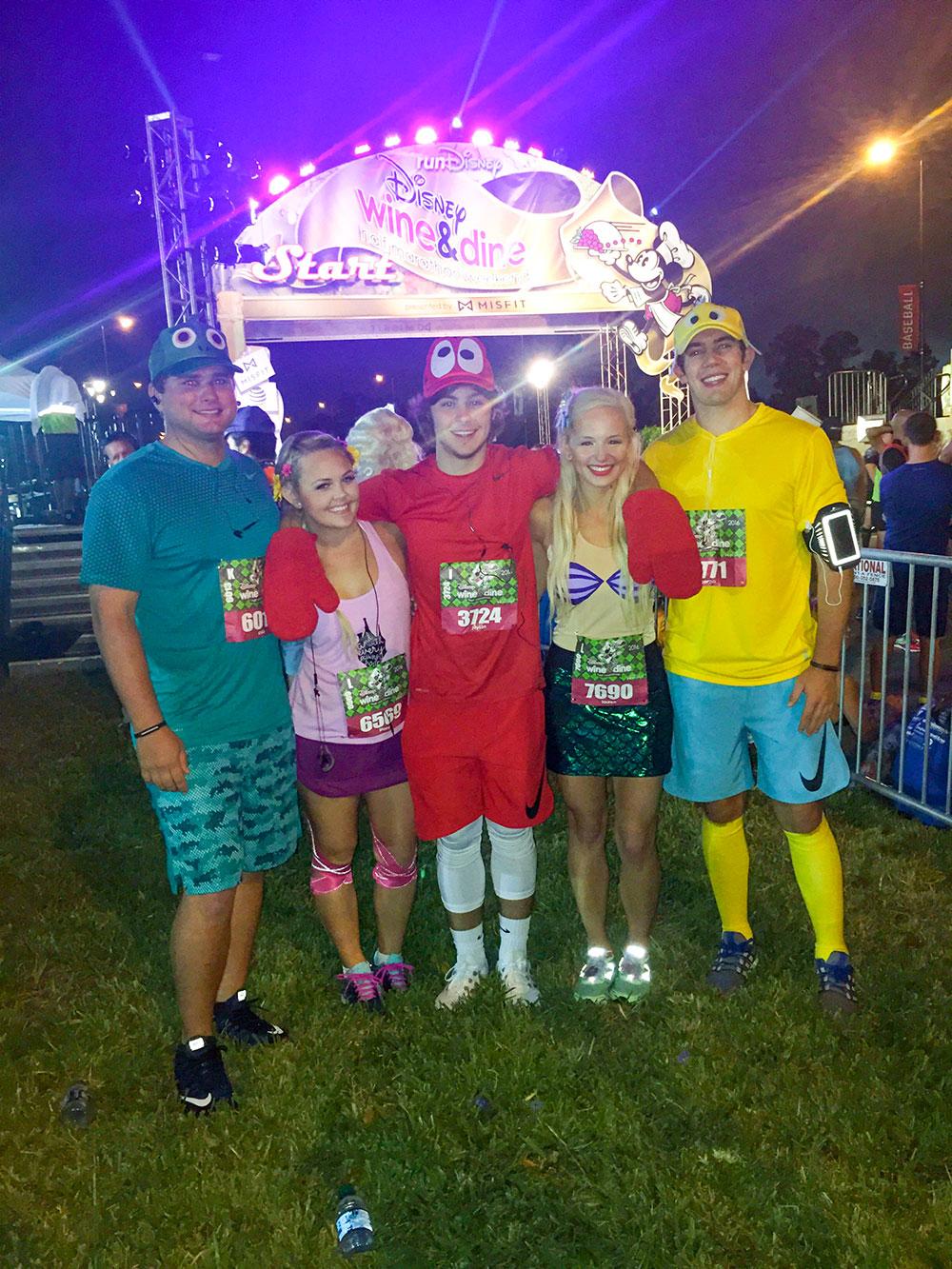 run-disney-ariel-flounder-sebastian-running-costumes