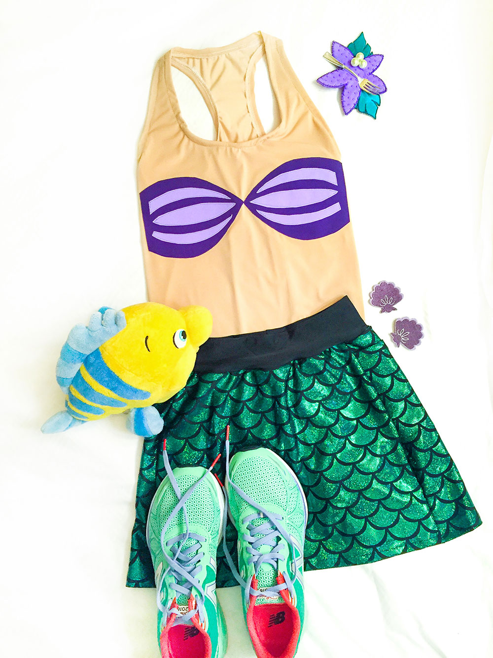 run-disney-ariel-mermaid-running-costume