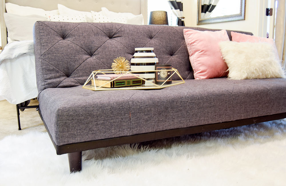 grey-tufted-cotton-click-clack-futon-couch