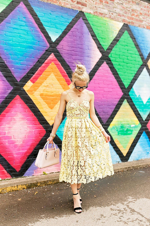 yellow-lace-illusion-donna-morgan-midi-dress