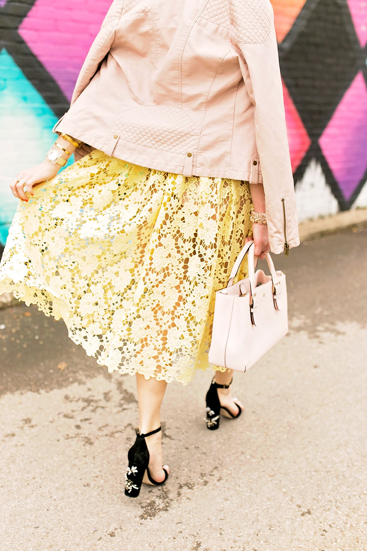 yellow-lace-illusion-midi-dress