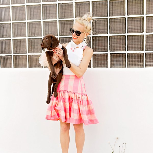 ruffle skirt outfit