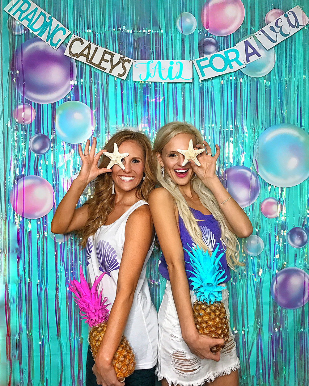 Trading Her Tail for a Veil - Mermaid Bachelorette Party | Vandi Fair