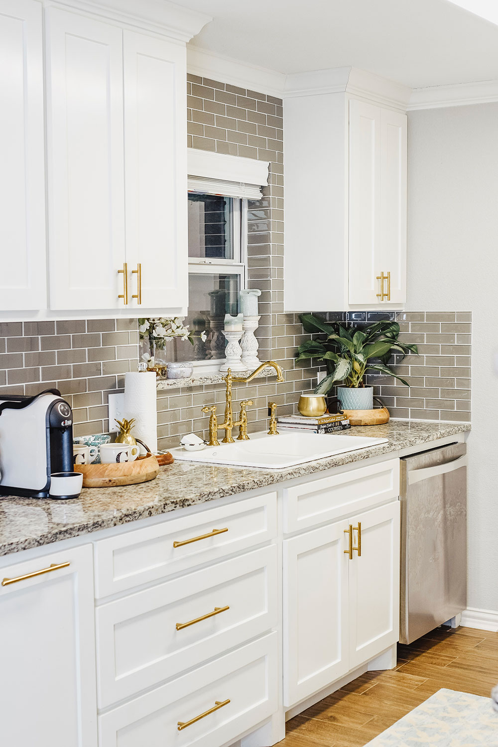 Our Kitchen Sink Woes + Our Small Kitchen Reveal | Vandi Fair on Kitchen Sink Ideas  id=72066