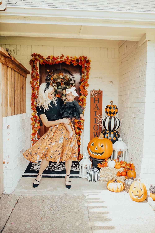 Our Halloween Outdoor Decor & Porch