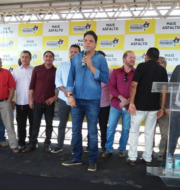 Luciano Genésio pediu ainda ajuda ao deputado para resolver o problema da água em alguns bairros de Pinheiro.