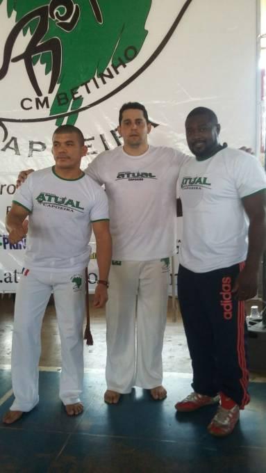 Contramestre Betinho, Professor Jiboião e Professor Baiano.