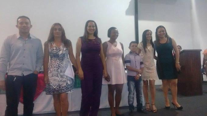 Romário, Maria José, Célia, Almira e Luciana