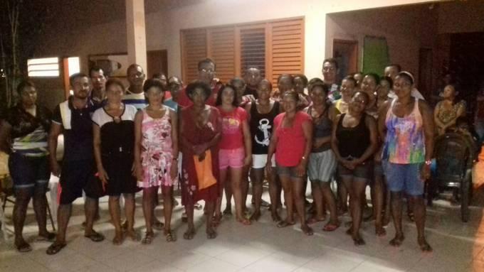 Os pais dos alunos do povoado Paraiso, são grandes incentivadores dos filhos.