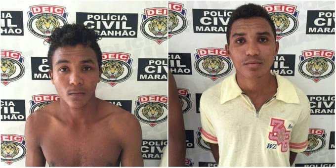 Irmãos Lucivaldo Ribeiro de 24 anos, e Lucivando Ribeiro de 21 anos.