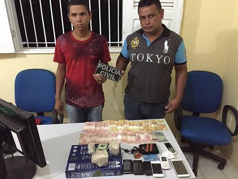 Givanildo Trindade dos Santos (Gil), 37, e Edney Barreiro da Silva, 19