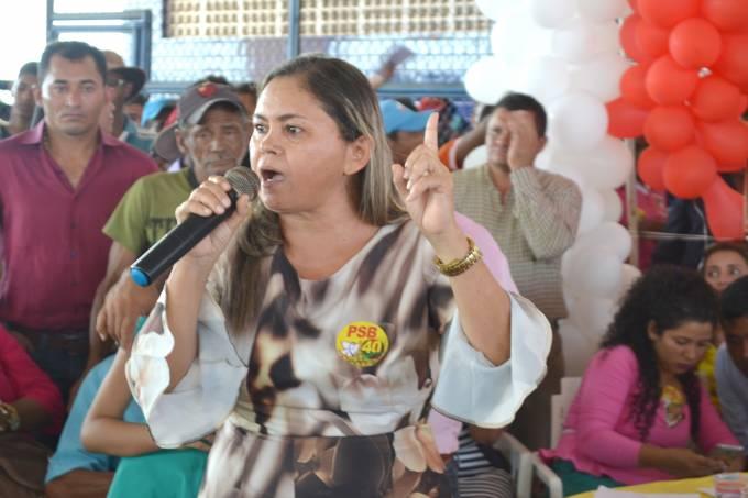 Iolanda declarou que está pronta para contribuir com o município.